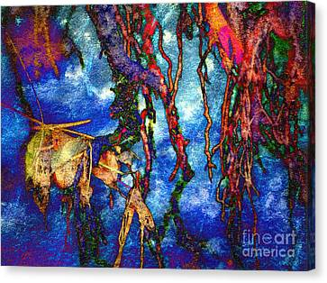 Canvas Print featuring the photograph Roots by Irina Hays