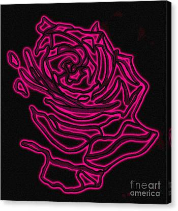 Rose 2 Canvas Print by Christine Perry