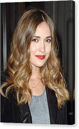 Center Part Canvas Print - Rose Byrne At Arrivals For 2010 by Everett