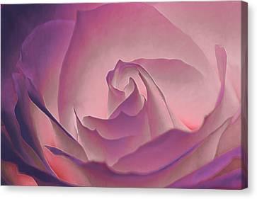 Rosy Daydreamer Canvas Print