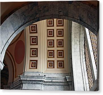 Rotunda Arches Canvas Print