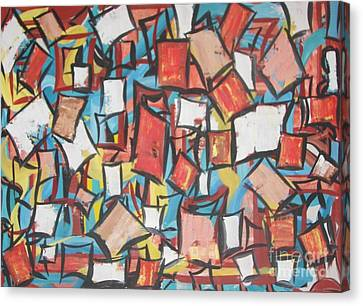 Rough Diamonds Canvas Print by Rachel Carmichael