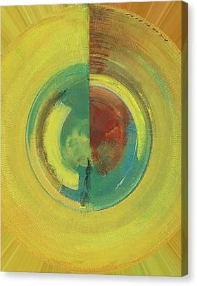 Rounded Canvas Print