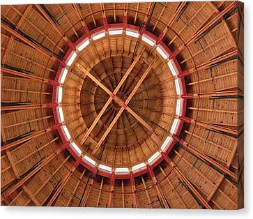 Canvas Print featuring the photograph Roundhouse Cupula by Darleen Stry