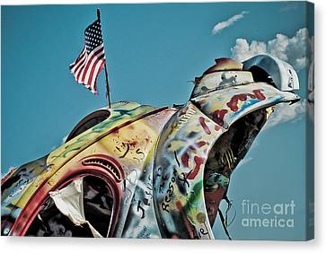 Route 66 - Bug Ranch 01 Canvas Print by Jak of Arts Photography