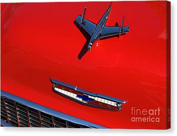 Route 66 Classic Cars 1 Canvas Print by Bob Christopher