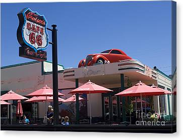 Route 66 Cruisers Williams Arizona Canvas Print by Bob Christopher