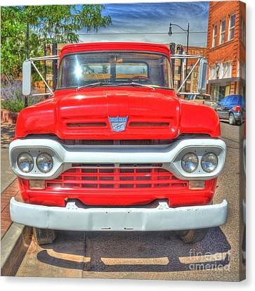Route 66 Flatbed Ford Canvas Print by John Kelly