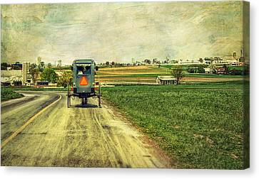 Route 716 Canvas Print by Kathy Jennings