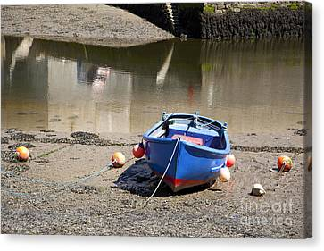 Rowboat Canvas Print - Rowing Boat by Jane Rix