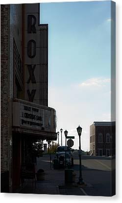 Roxy Regional Theater Canvas Print by Ed Gleichman