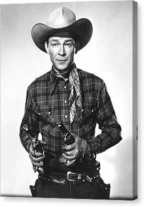 Roy Rogers, Ca 1950 Canvas Print by Everett