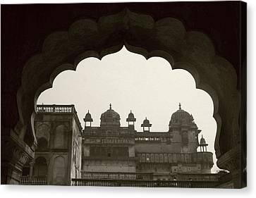 Royal Architecture Canvas Print by Tia Anderson-Esguerra