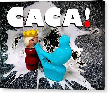 Royal Caca Canvas Print by Ricky Sencion