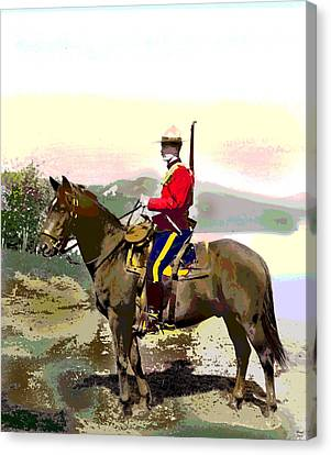 Royal Canadian Mounted Police Canvas Print