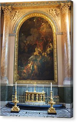 Canvas Print - Royal Naval Chapel Interior by Anna Villarreal Garbis