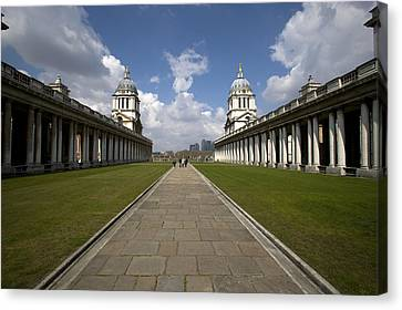 Royal Naval College Canvas Print by Lonely Planet