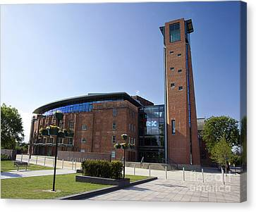 Royal Shakespeare Theatre Canvas Print by Jane Rix