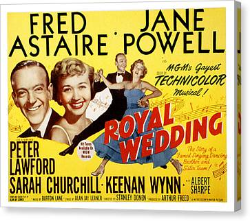 Royal Wedding, Fred Astaire, 1951 Canvas Print by Everett