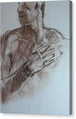 Roy's Hand. Canvas Print