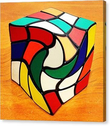 Rubik's Revenge Canvas Print by Cameron Bentley