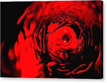 Ruby Red Race Canvas Print