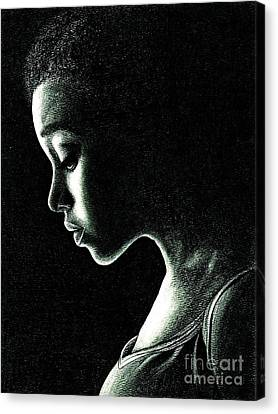 Rue Canvas Print by Crystal Rosene