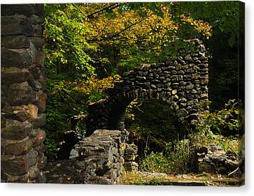 Canvas Print - Ruins by Tanya Chesnell