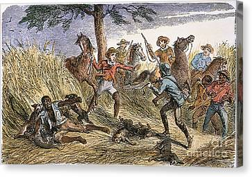 Runaway Slave Canvas Print by Granger