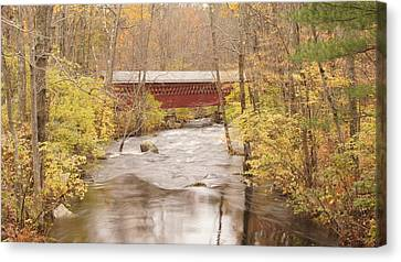 Rural Bridge Canvas Print by Tristan Bosworth
