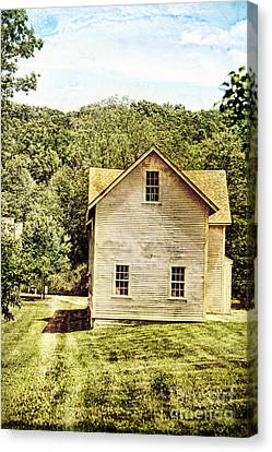 Rural Home Canvas Print by HD Connelly