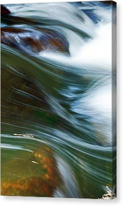Rushing Water I Canvas Print