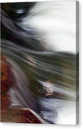 Rushing Water II Canvas Print