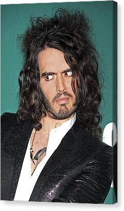 Russell Brand At A Public Appearance Canvas Print by Everett