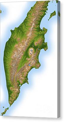 Russias Kamchatka Peninsula Canvas Print by Stocktrek Images