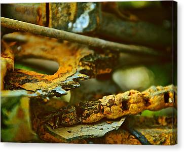 Rust Abstraction Canvas Print by Odd Jeppesen