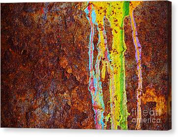Rust Background Canvas Print
