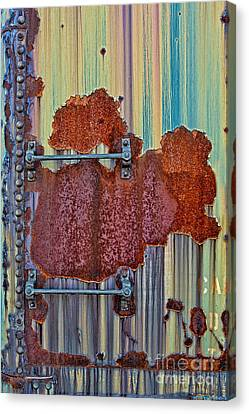 Rusted Art Canvas Print by Susan Candelario