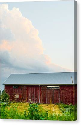 Rustic Barn Canvas Print by Christina Klausen