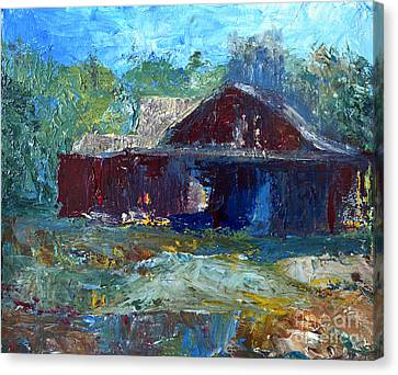 Rustic Barn Canvas Print by Claire Bull
