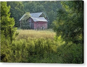 Rustic Barn Canvas Print by Tom Mc Nemar