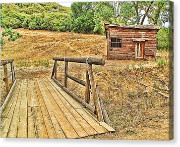 Rustic Cabin Canvas Print by Jason Abando