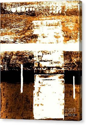 Rustic Modern Canvas Print by Marsha Heiken
