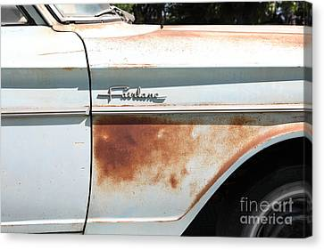 Rusty 1964 Ford Fairlane . 5d16186 Canvas Print by Wingsdomain Art and Photography