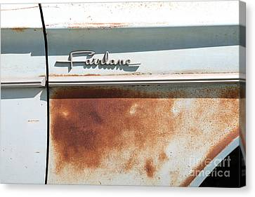 Rusty 1964 Ford Fairlane . 5d16187 Canvas Print by Wingsdomain Art and Photography