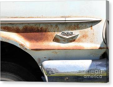 Rusty 1964 Ford Fairlane . 5d16188 Canvas Print by Wingsdomain Art and Photography