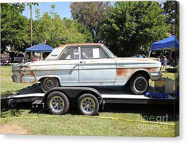 Rusty 1964 Ford Fairlane . 5d16190 Canvas Print by Wingsdomain Art and Photography