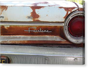 Rusty 1964 Ford Fairlane . 5d16191 Canvas Print by Wingsdomain Art and Photography