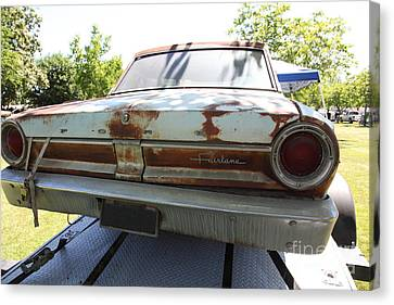 Rusty 1964 Ford Fairlane . 5d16192 Canvas Print by Wingsdomain Art and Photography