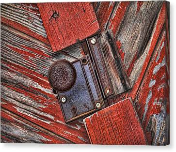 Rusty Dusty And Musty Canvas Print by Kathy Clark